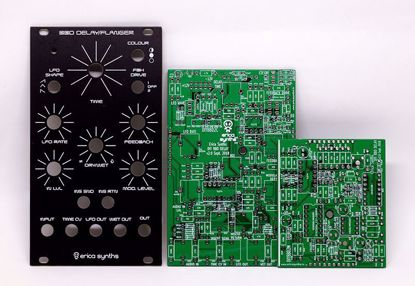 Picture of Erica Synths DIY – BBD delay/flanger PCBs & Panel Set