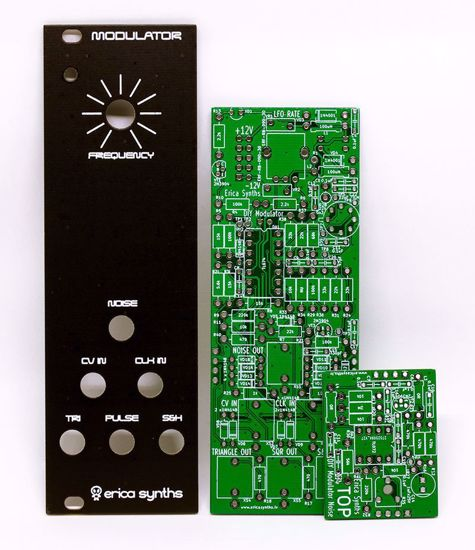 Picture of Erica Synths DIY – Modulator (Polivoks inspired) PCBs and Panel Set