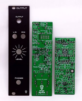 Picture of Erica Synths DIY – Output (Polivoks inspired) PCBs and Panel Set
