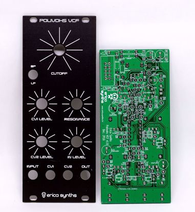 Picture of Erica Synths DIY – VCF (Polivoks inspired) PCB and Panel Set