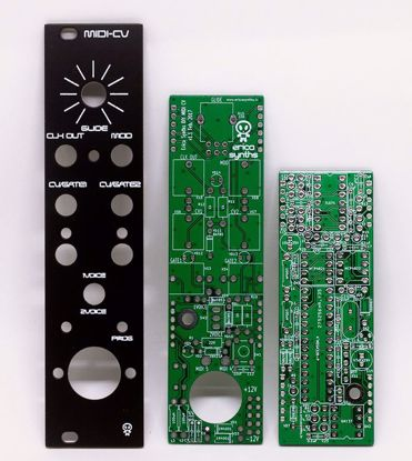 Picture of Erica Synths DIY – Midi to CV converter PCBs and Panel Set