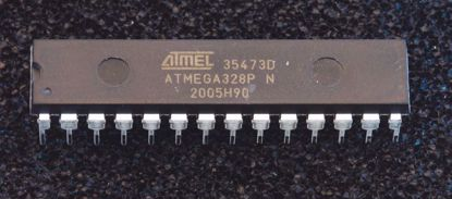 Picture of ATMEGA328P for Erica Synth MIDI to CV